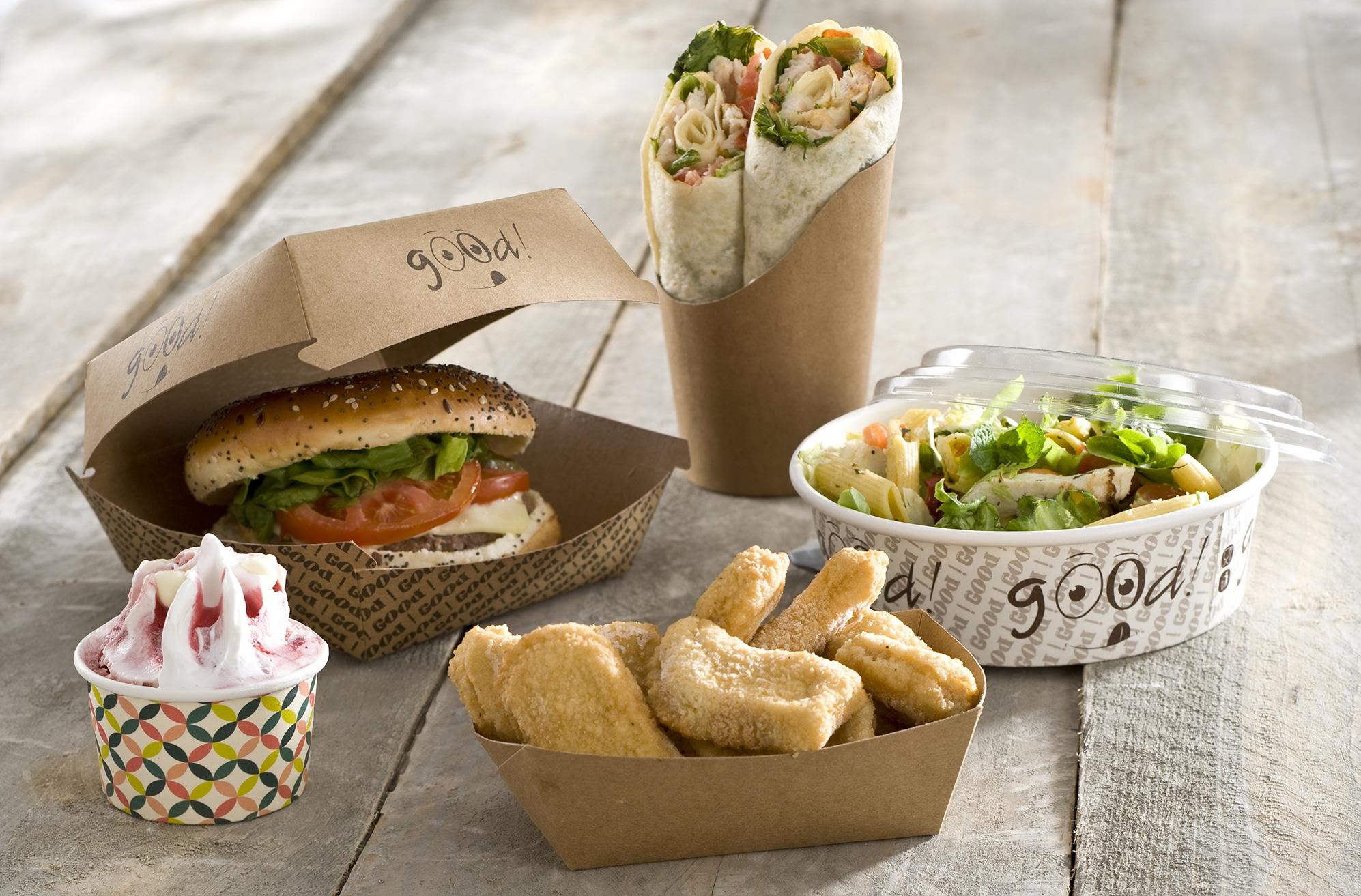 emballages burger snacking vente à emporter Publi Embal