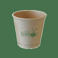 gobelets bambou vaisselle jetable Publi Embal