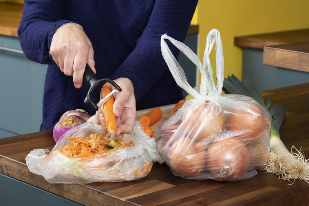 sacs compostables composteur