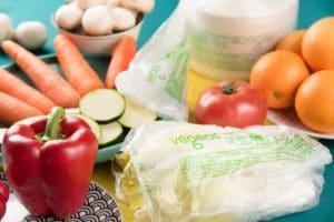 sacs biodégradables et compostables végéos Publi Embal 2